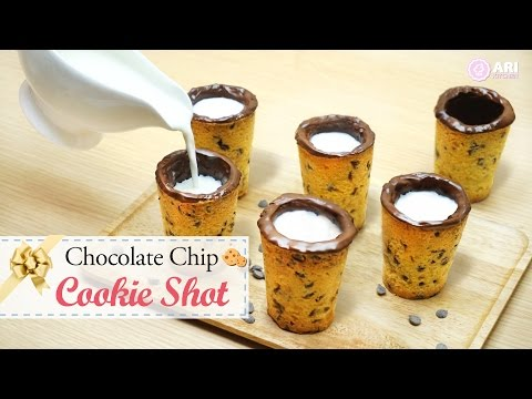 Chocolate Chips Cookie Shot! - Ari Kitchen