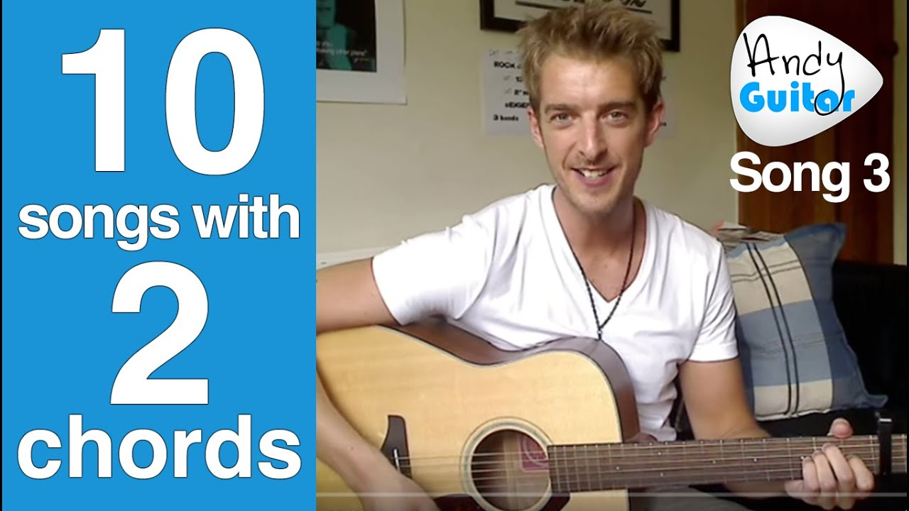 EASY 2 Chord Song #3 | U.N.I. by Ed Sheeran (Ten Guitar Songs with 2 Chords)