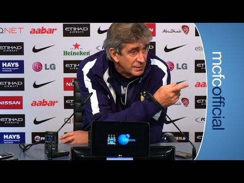 Video: PELLEGRINI PREVIEWS WEST HAM | City v West Ham press conference part 2