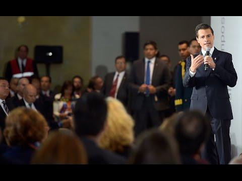 """Peña Nieto en el Foro """"Impulsando a México"""""""