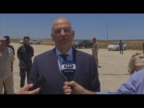 Στη Λιβύη ο Ν. Δένδιας. Συνάντηση με τον πρόεδρο της Βουλής