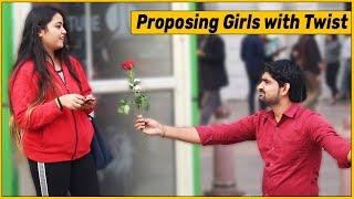Video Proposing Girls Prank with Twist | The HunGama Films MP3, 3GP, MP4, WEBM, AVI, FLV Desember 2018