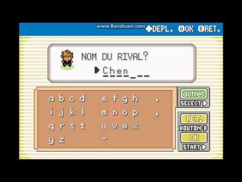 pokemon version rouge feu game boy advance
