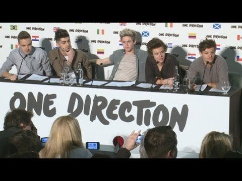 One - One Direction announce plans for their first ever world stadium tour, called the Where We Are Tour 2014. The lads, who rose to fame on The X Factor in 2010, ...