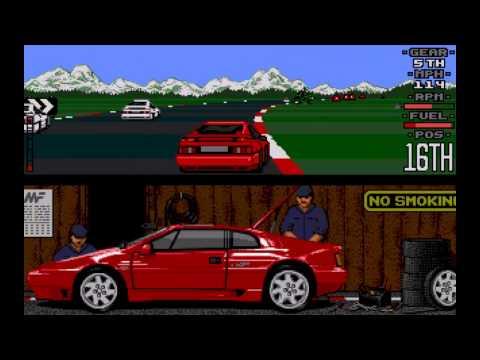 Lotus Esprit Turbo Challenge Atari