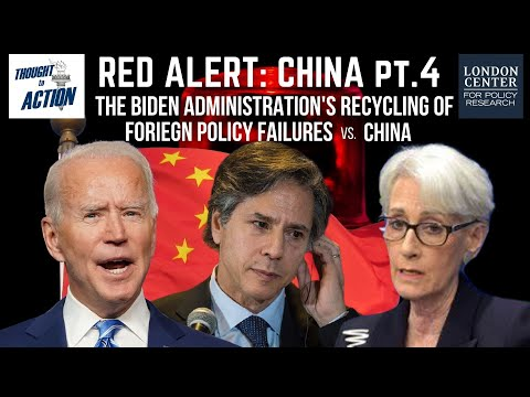 Red Alert: #China 4 - US Recycling Foreign Policy Failures vs #CCP