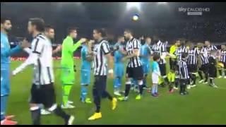 """Napoli-Juventus Il San Paolo canta """"Napule è"""""""