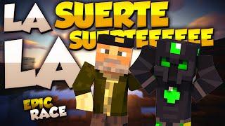 LA SUERTE, LA SUERTEEEEEE!! - Willyrex vs sTaXx - Carrera épica Lucky Blocks