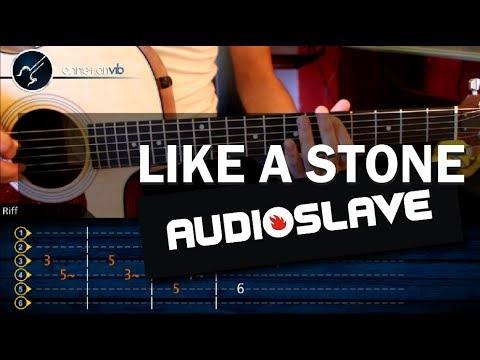 Como Tocar Like A Stone En Guitarra Christianvib Christian