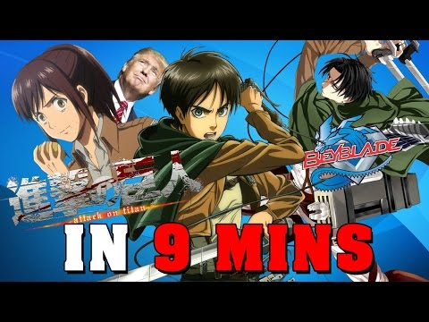 Attack on Titan IN 9 MINUTES