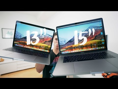 ", title : '13"" vs 15"" 2017 Macbook Pro - FULL REVIEW'"