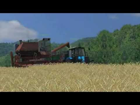 "Agroveka ""Ž.Ū.B"" Barley/Wheat Harvesting Farming Simulator 2013 (Multiplayer)"
