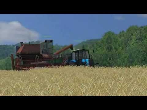 "Agroveka ""Ž.Ū.B"" Barley/Wheat Harvesting Farming Simulator 2013 (Multiplayer)"