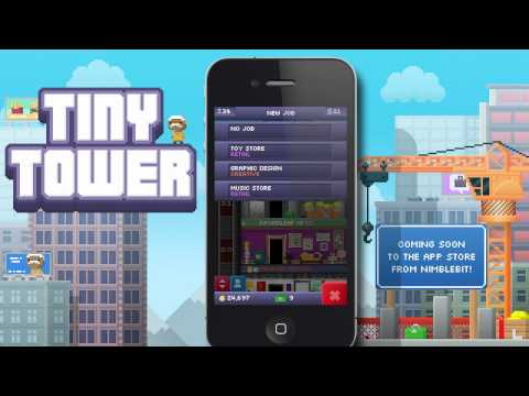 Tiny Tower - Tiny Tower lets you build a tiny tower and manage the businesses and bitizens that inhabit it! Make money to build new types of floors and attract bitizens t...