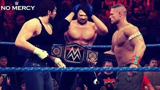WWE 2K PS4/PC: No Mercy 2016 John Cena vs AJ Styles vs Dean Ambrose Promo! (Short Hype Promo/Ad)