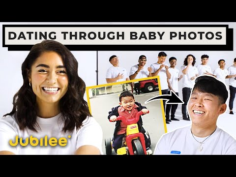 Blind Dating 10 Guys Based on Their Baby Photos