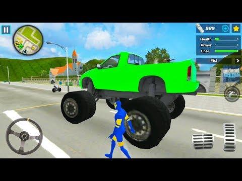 Spider Ninja Hero Simulator - Big Open City Game - Android Gameplay