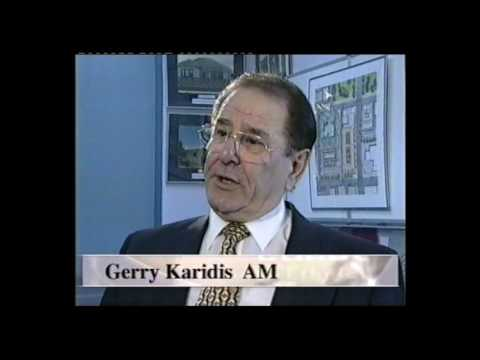 1998 Ethnic Business Awards Finalist – Medium to Large Business Category – Gerry Karidis – Karidis Corporation