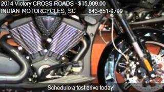 10. 2014 Victory CROSS ROADS 8-BALL for sale in Murrells Inlet,