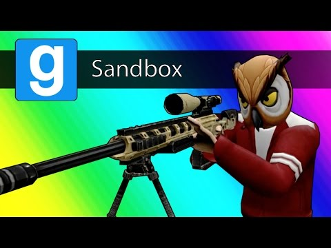 Gmod Sandbox - 1v1 Sniper Battle! (Garry's Mod: Call of Duty MW2 Parody)