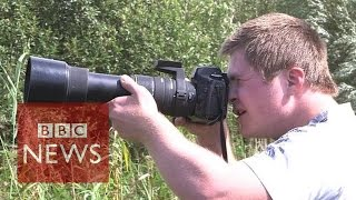Photographer With Down's Syndrome 'sees The World Differently' - BBC News