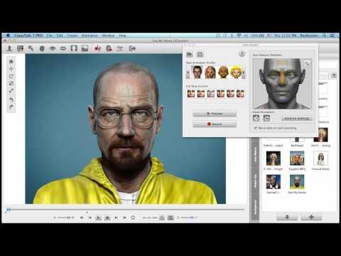 CrazyTalk 7.3 Tutorial – Custom Motion Clip Strength