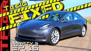 The Tesla is Finally BACK! So Why Did It Take 3 MONTHS To Fix It?  - Thrifty 3 E.16 by The Fast Lane Car