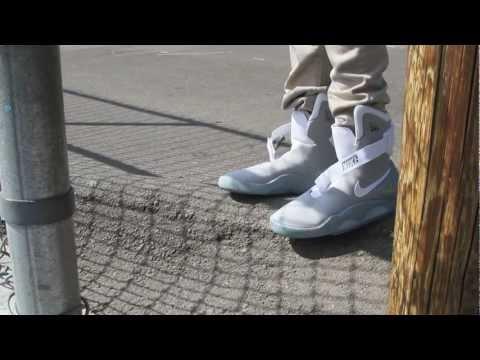 0 Nike Mag 2011 On Feet Video