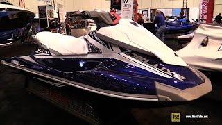 10. 2016 Yamaha VX Deluxe Jet Ski - Walkaround - 2015 AIMExpo Orlando
