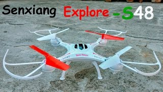 Nonton RC Adventure | Senxiang Explore S48  Drone Unboxing & First Flight Test 2.4GHz Film Subtitle Indonesia Streaming Movie Download