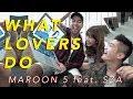 Maroon5 - What Lovers Do (Cover By Vidi Aldiano, Sheila Dara, Boy William)