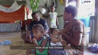 Discovering family planning by surviving Cyclone Winston, Fiji