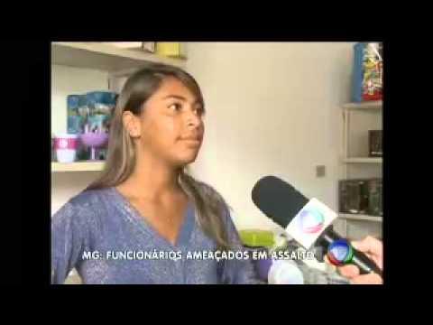 Assalto a casa lotérica em Ressaquinha,Record MG 01-06-2013