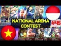 Vietnam Vs Indonesia [1st Game 220917] | National Arena Contest Mobile Legends