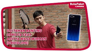 Download Video Menyiksa OPPO F9, Seberapa Kuat Ketangguhannya? feat. Wasa Wirman (Droidlime)| BukaPaket for Him MP3 3GP MP4