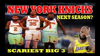 BIG 3 | Kevin Durant | Kyrie Irving | Zion Williamson | NEW YORK KNICKS | Next Season?