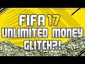 INSANE FIFA 17 FOREVER WORKING MANAGER CARRER MONEY GLITCH