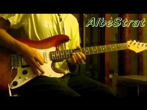 The Fletcher Memorial Home cover – solo ( 3 chitarre ) – Pink Floyd – AlbèStrat