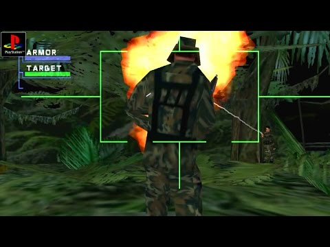 Syphon Filter 3 - Gameplay PSX / PS1 / PS One / HD 720P (Epsxe)
