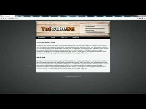 HTML5 & CSS3 – Webseite erstellen (Startseite [vorerst] fertigstellen) #11 [TuTCube]