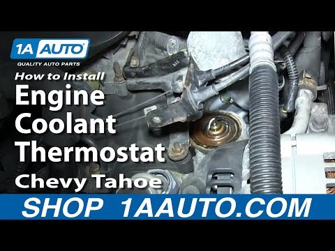 How To Install Replace Engine Coolant Thermostat 5.7L 1995-99 Chevy Tahoe