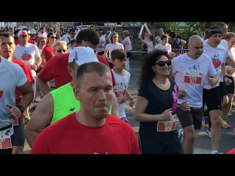 Wideo: Start do Biegu Papieskiego w Lubinie