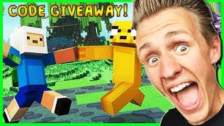 ADVENTURE TIME MASH UP PACK! | Minecraft Xbox One | CODE GIVEAWAY!
