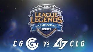 Video CG vs. CLG - Week 2 Day 1 | NA LCS Spring Split | Clutch Gaming vs. Counter Logic Gaming (2018) MP3, 3GP, MP4, WEBM, AVI, FLV Juni 2018