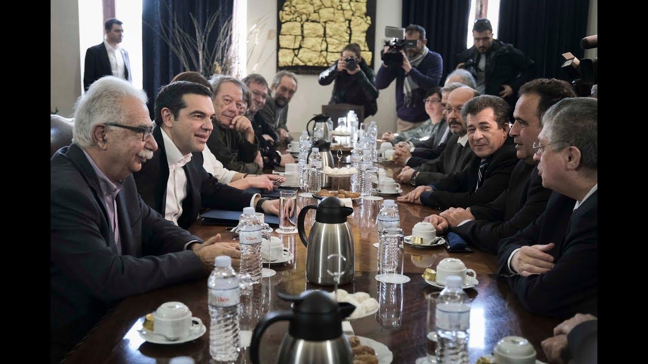 Συνάντηση με Πρυτάνεις και Αντιπρυτάνεις των ΑΕΙ και ΤΕΙ της Θεσσαλονίκης