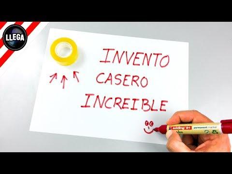 Videos caseros - INCREÍBLE INVENTO CASERO FÁCIL DE HACER
