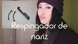 TODO sobre RESPINGADOR DE NARIZ + TUTORIAL ♡ - YouTube