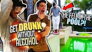 How To GET DRUNK without ALCOHOL! *99% WORKS*