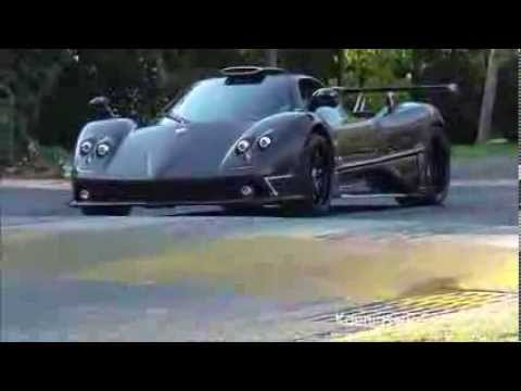One Off Pagani Zonda 760rs Spotted In Chile Gtspirit