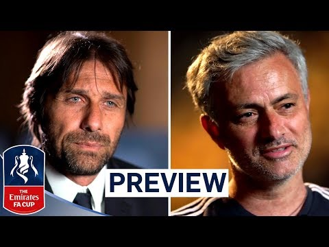 Another Special Cup for the Special One? | Mourinho & Conte | Emirates FA Cup Final 2017/18
